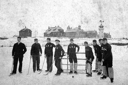 Ice Polo Team 1891