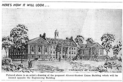 Proposed Student Union - 1947